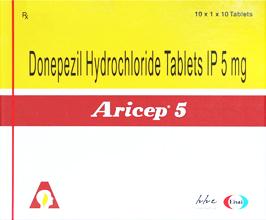 Aricep-5mg-100Tab