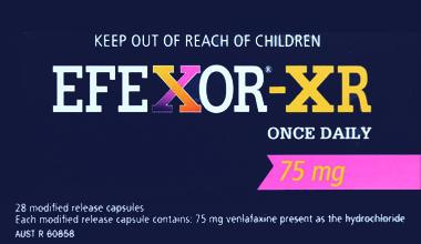 EFEXOR-XR(NE)-75MG-28Cap