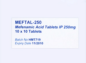 MEFTAL-250mg-100Tab