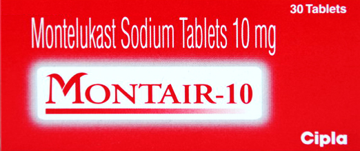 MONTAIR 10 mg 100 Tab
