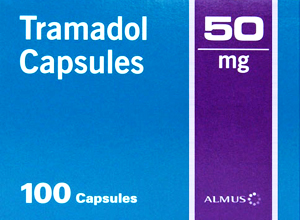 TRAMADOL(GB) 50MG 100 Cap