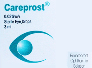 Careprost Eye Drop 0.03% w/v 3 ml  (Sun Pharma)