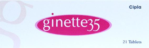 GINETTE 35 (Cipla) 21tabs in 1 box