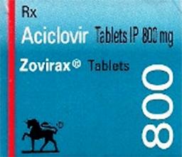 Zovirax 800mg 25