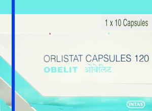 OBELIT 120mg (Intas Pharmaceuticals Ltd) 10CAPSULE in 1 box