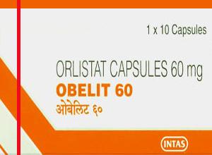OBELIT 60mg (Intas Pharmaceuticals Ltd) 10CAPSULE in 1 box
