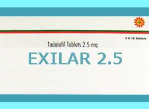 EXILAR 2.5mg 30 Tab