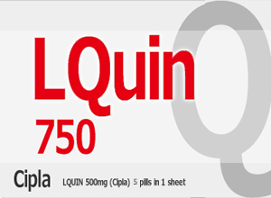 LQUIN 750mg 5 Tab