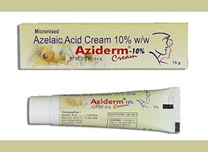 Aziderm Cream 10% w/w 15 gm