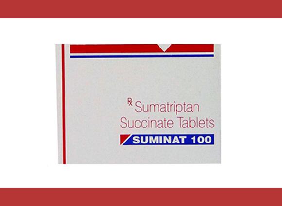 SUMINAT 100 mg 5 pills in 1 sheet