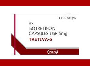 Tretiva (Intas) 5 mg 10 pills in 1 box