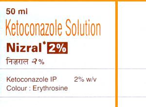 NIZORAL 2% w/v  (JANSSEN-CILAG) 50ml