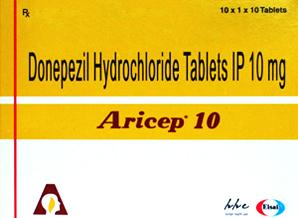 Aricep-10mg-100Tab