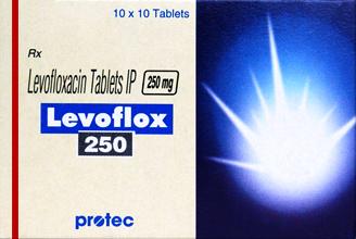 LEVOFLOX 250mg 100 Tab