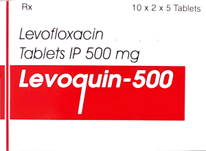 LEVOQUIN-500mg-100Tab