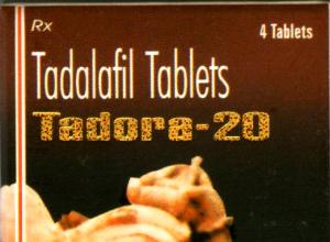 Tadora (German Remedies) 20 mg 4 pills in 1 box