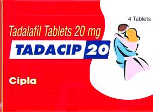 TADACIP 20mg 4 Tab