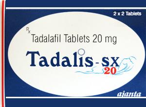 TADALIS SX 20mg 4 Tab