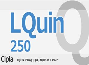 LQUIN 250mg 10 Tab