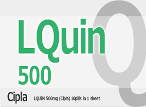 LQUIN 500mg 10 Tab