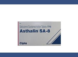ASTHALIN SA 8mg 100 Tab