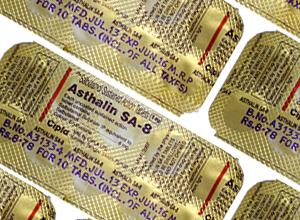 Asthalin (Cipla) 8 mg 10 pills in 1 sheet
