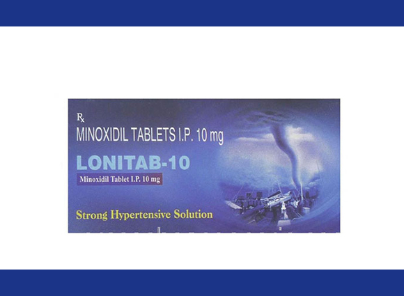 Lonitab (Intas) 10 mg 10pill in box