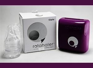 Rotahaler (Cipla) device for breaking rotacaps capsule