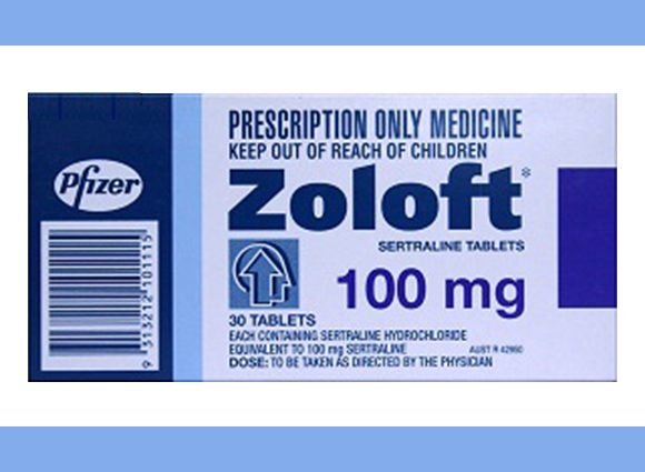 Zoloft (Daxid) 100mg (Pfizer) 15pills in 1 sheet